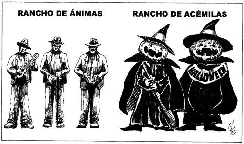 """Viñeta """"Rancho de Ánimas """""""