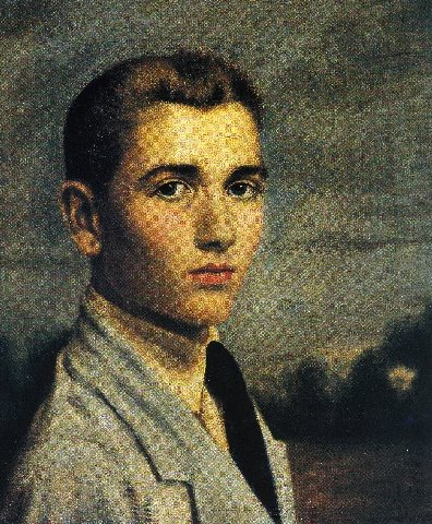 Autorretrato de Gregorio Toledo (1923). - Autorretrato-1923