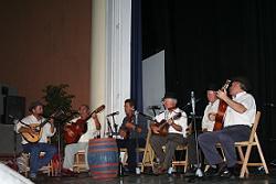Parranda majorera en las XV Jornadas de Cultura Popular de La Aldea, Entre otros, aparece El Colorao, Marcos Hormiga y El Cuco.