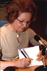 La escritora Balbina Rivero.