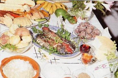 Comida típica que se suele utilizar en las festividades canarias, por ejemplo, en la de San Martín de Tours de La Palma.
