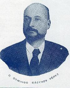 Domingo Cáceres Pérez, fundador del colegio de dominica La Palmilla, en Santa Cruz de La Palma.