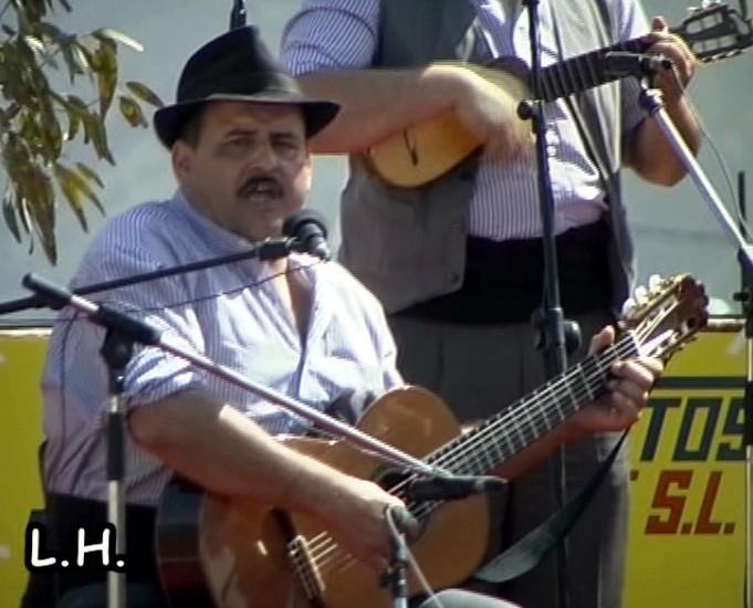 Actuación de la Parranda El Cerrillal.