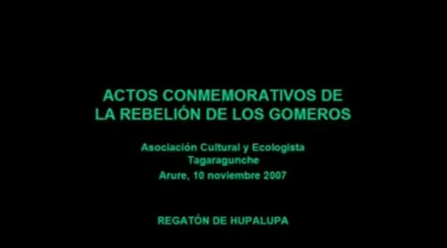 La Gomera (Canarias): Regatón Hupalupa 2007 (Parte I) Clara Santos Negrín.