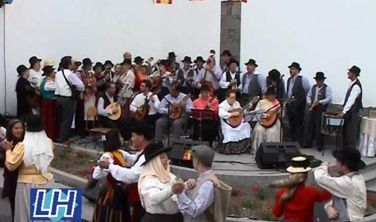 Actuación de la Parranda de Luis en Arucas.