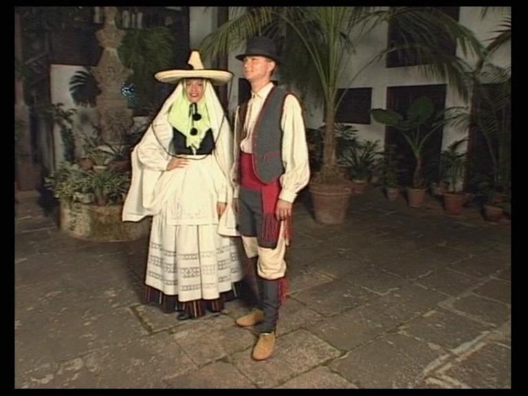 Trajes Tradicionales de las Islas Canarias (Fuerteventura).