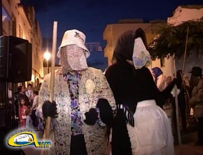 Muestra del Carnaval Tradicional de La Aldea