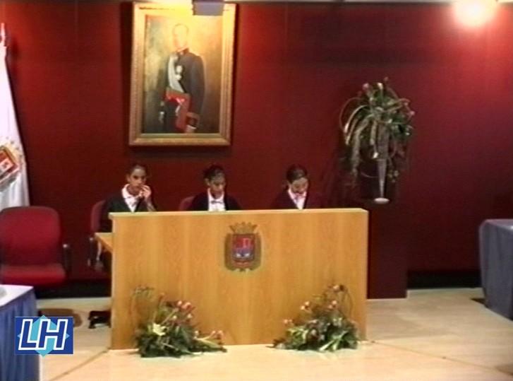 IV Pleno Extraordinario Infantil del Ayuntamiento de Las Palmas