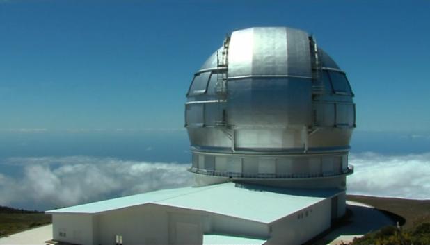 Gran Telescopio de Canarias (Roque Los Muchachos-La Palma)