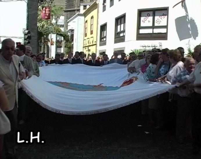 Bendición de la Bandera (Santa Cruz de La Palma - Lustrales 2005).