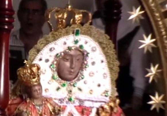 Celebración de la Virgen de Las Nieves en Cagua (2009) (2ª Parte)