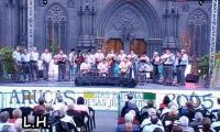 Actuación de Los Granjeros en la Plaza de San Juan (Arucas)