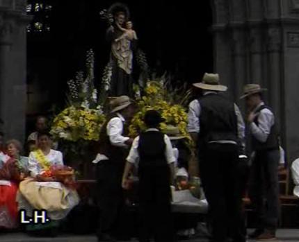 Romerías de Gran Canaria: San Antonio en Moya (y 3ª Parte)