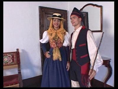 Trajes Tradicionales de las Islas Canarias (El Hierro).