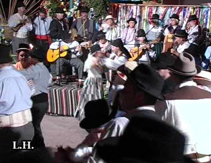 VIII Jornadas Tradicionales de Mogán. Baile de Taifas (3ª Parte)