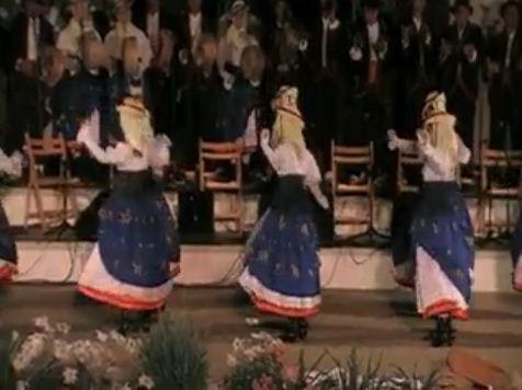 """Coros y Danzas de Valle Gran Rey. """"Santo Domingo Gomero"""""""