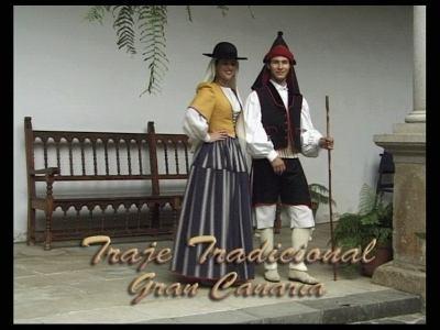 Trajes Tradicionales de las Islas Canarias (Gran Canaria)