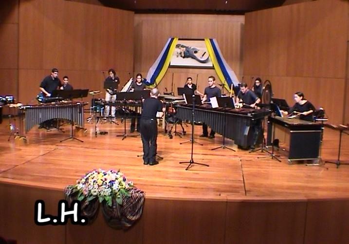 Grupo de Percusión del Conservatorio Superior de Música