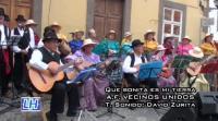 Los domingos folclore por Vegueta (Las Palmas). AF Vecinos Unidos