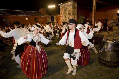 "Agrupación Folklórica ""Real Hespérides"" de La Laguna. Tanganillo, Santo Domingo y Tajaraste"