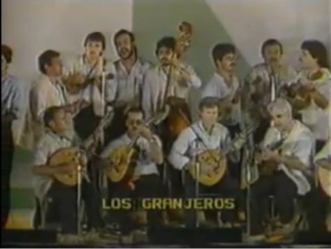 """Grupo de Música Popular """"Los Granjeros"""" de Arucas 1984"""