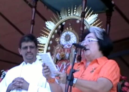 Celebración de la Virgen de Las Nieves en Cagua (2009) (1ª Parte)