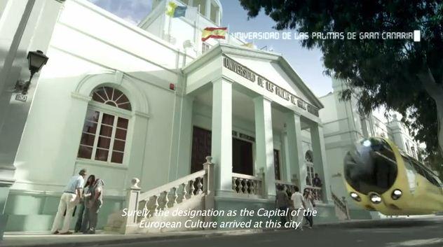 2016 Las Palmas de Gran Canaria: Una luz en el océano