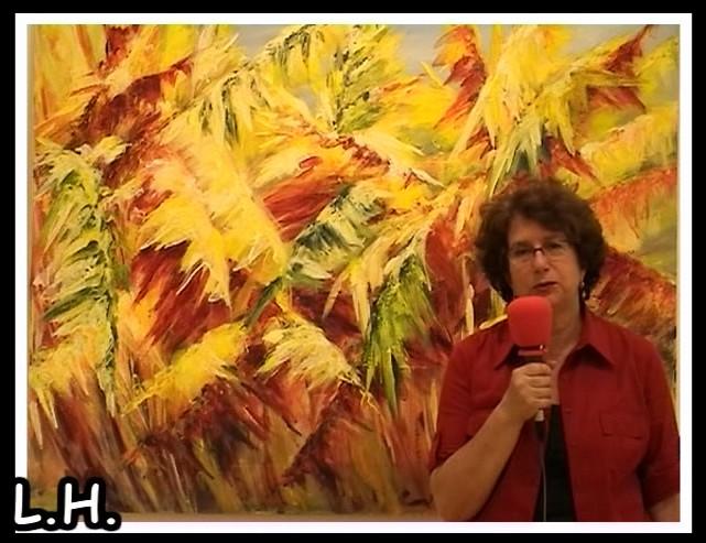 """Exposición de Pintura de Ana Gracia: """"Palmerales"""" ( y 2ª Parte)"""