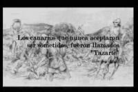 "Tazarte, ""Ultimos alzados canarios"""