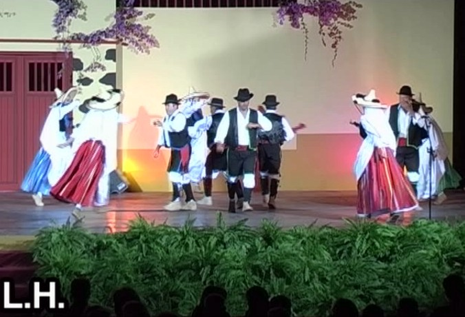 Festival Regional de Folclore La Palma (Bajada de la Virgen 2005) (4ª Parte)