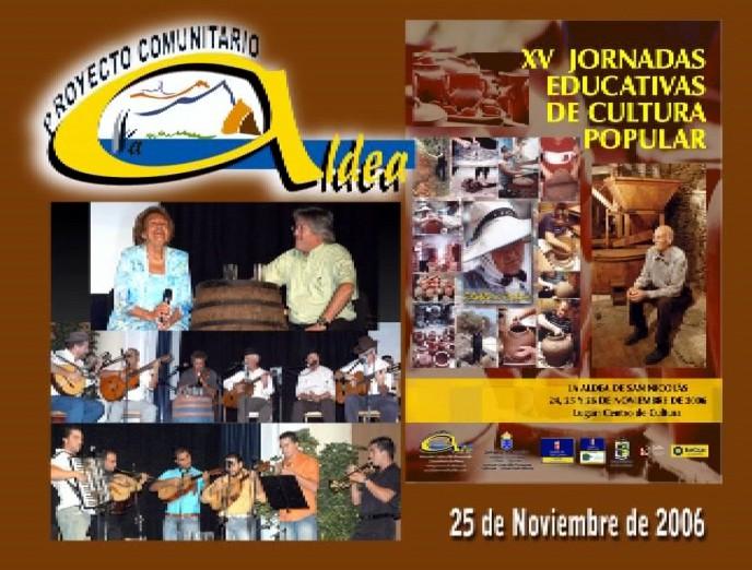 XV Jornadas Educativas de Cultura Popular de La Aldea (1ª Parte)