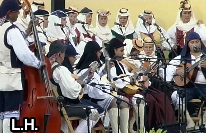 Festival Regional de Folclore La Palma (Bajada de la Virgen 2005) (1ª Parte)
