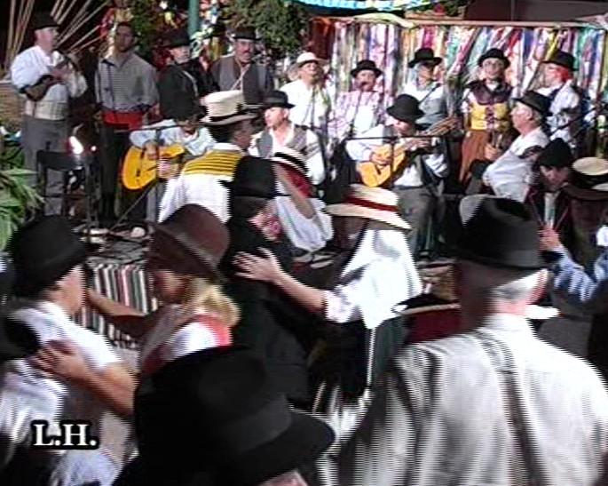 VIII Jornadas Tradicionales de Mogán. Baile de Taifas (Completo)