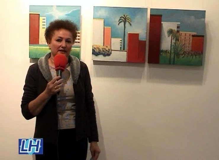 """""""Ámbito"""": pinturas de Valme García"""