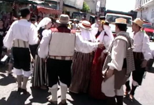 """Romería de la Virgen de La Candelaria y I Festival 7 Islas """"Venezuela"""" (1ª Parte)"""