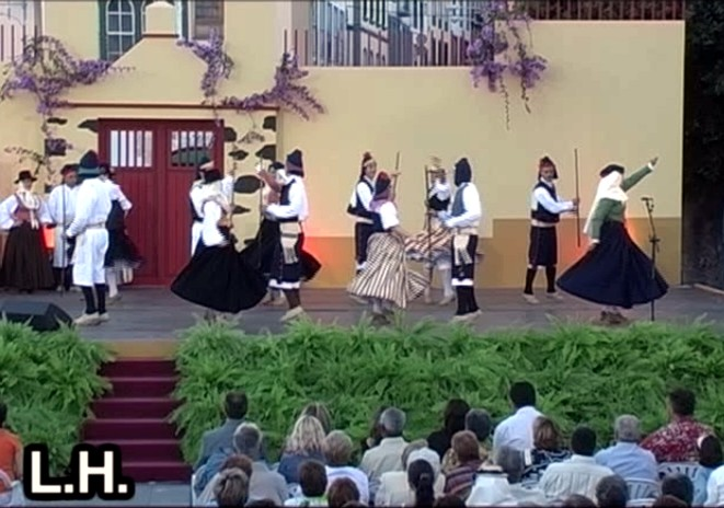 Festival Regional de Folclore La Palma (Bajada de la Virgen 2005) (2ª Parte)