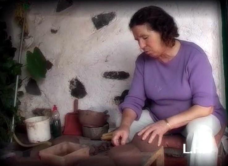 """""""Cerámica Aborigen"""" de Rufina (La Gomera)"""