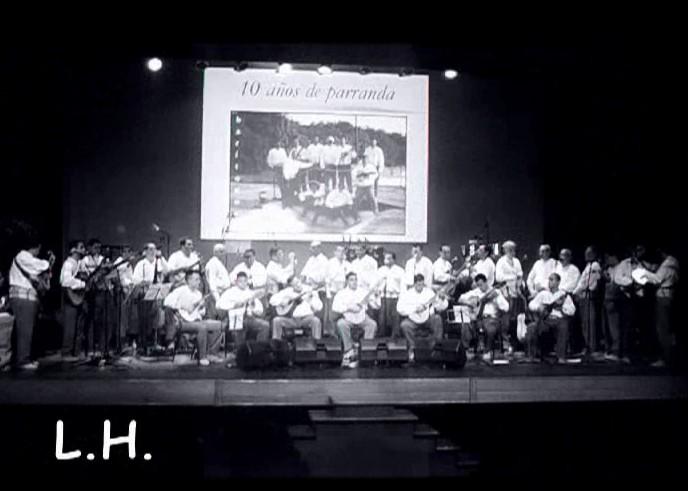 Actuación de La Parranda Araguaney (X Aniversario)