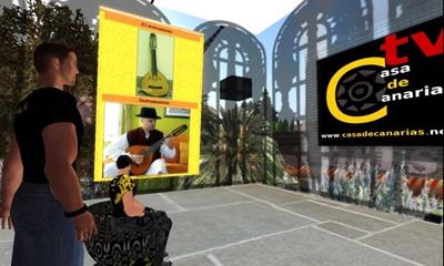 La Casa de Canarias en Second Life