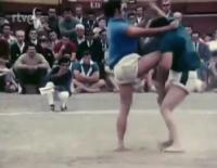 La Lucha Canaria en el Nodo