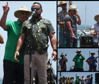 Reportaje fotográfico del Festival de Improvisadores de Corralejo 2018 (Muelle Chico)