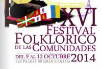 Festival Folclórico de las comunidades Octubre 2014