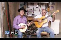 Honorio Pulido (luthier) y Luis Hernández (tocador)