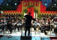 Actuación de la Banda de Música de Gáldar en las Fiestas de Santiago (1ª Parte)