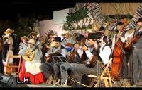 Actuación de la AF Rumantela en San Isidro