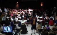 Actuación Folclórica Dos Orillas (2012)